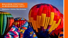 Visiting the Hot Air Balloon Festival 2019 in Albuquerque where we attended the Balloon Inflation (including illuminated Dawn Patrol) and Mass Ascension with. Albuquerque Balloon Festival, Albuquerque Balloon Fiesta, Air Balloon Festival, One Balloon, Hot Air Balloon, Balloons, Before Sunrise, Road Trip Usa, Dreams
