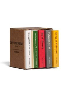 Look what I found from Out of Print! Banned Books Matchbox Set – Out of Print #OutofPrintClothing