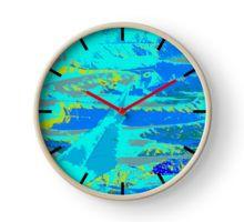 Fall in blue Horloge
