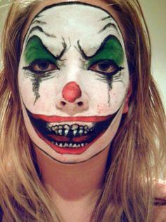 Evil Clown Makeup by ~KissMeLoveMeUseMe on deviantART