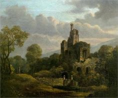 Landscape with a Ruined Castle - William Shayer
