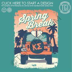 Kappa Sigma | K Sig | Spring Break | Beach | Jeep | Car | TGI Greek | Custom Apparel | Sorority Shirts | Fraternity Shirts |#Springbreak#Jeep#Beach Fraternity Coolers, Fraternity Shirts, Sorority And Fraternity, Sorority Shirts, Frat Coolers, Sorority Pr, Spring Break Outfits, Spring Break Quotes, Spring Break Party