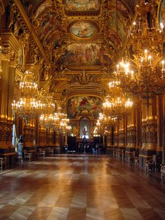 Opera Garnier, Paris, France: