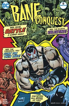 Bane Conquest DC Comics 2017 Print NM for sale online Dc Comic Books, Comic Book Covers, Dc Comics Art, Marvel Dc Comics, Dc Rebirth, Comic Games, Smallville, Bane, Dc Universe