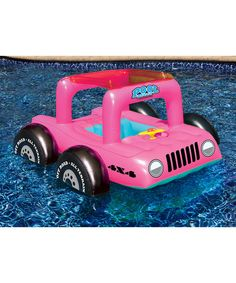 Swimline Pink Pool Buggy Float | zulily