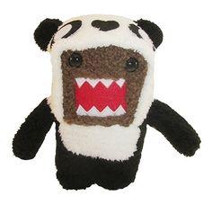 Licensed-Domo-Kun-As-Panda-6-Inch-Plush-Figure-0