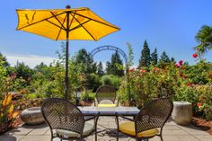 The ideal backyard patio area. Bellevue, WA Coldwell Banker BAIN  $4,488,000
