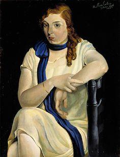 Portrait of Maria Carbona, (1925)    Salvador Dalí