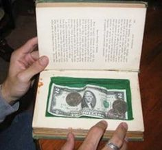 Secret Book Safes - omemade Gifts Men Will Actually Use
