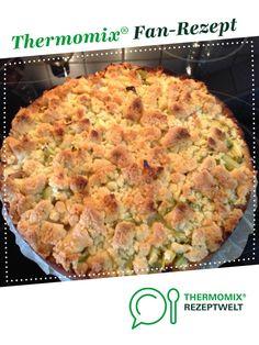 Rhabarberkuchen mit Streusel *Weltbester* von Borderwitch. Ein Thermomix ® Rezept aus der Kategorie Backen süß auf www.rezeptwelt.de, der Thermomix ® Community.