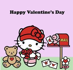 Cat Valentine, Happy Valentines Day, Hello Kitty Vans, Hello Kitty Christmas, Anime Rules, Hello Kitty Pictures, Hello Kitty Wallpaper, Cute Wallpaper Backgrounds, Wallpapers