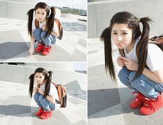 #ulzzang #kfashion #hairstyle #kawaii #girl #fashion