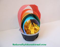 Pot of gold rainbow craft.