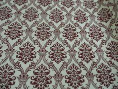 Damask printed handmade paper
