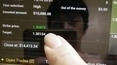 Crazy USD$10K Binary Options Trade! Over 70 Pips ITM and Counting! Part 1 [Tags: BINARY OPTIONS BINARY Counting Crazy Options Over Part Pips Trade USD$10K]