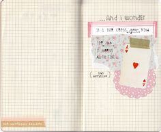 ws last catalog design. Notebook Doodles, Art Journal Pages, Art Journals, Wreck This Journal, Catalog Design, Pencil And Paper, Scrapbook Journal, Printable Paper, Music Love