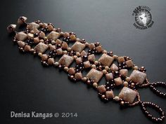 Denisa kangas-Czech Republic  Pyramid Beads