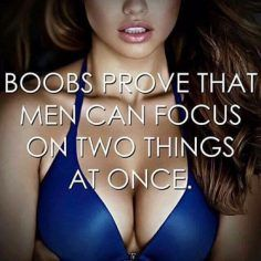 Men can focus on 2 things at once