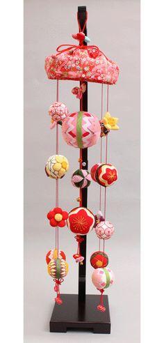 【雛人形】【つるし飾り】【つるし雛】寿慶吊るし飾り花手まり【インテリア】【まり飾り】
