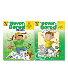 Loving this The Never-Bored Kid Book Ages 7-8 Workbook Set on #zulily! #zulilyfinds