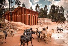 De dovenschool in het Burundese Muyinga.