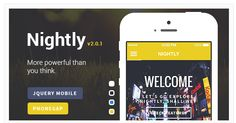 23 Best jQuery Mobile Themes for Responsive Web Apps