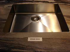 The Edge E-524 in Dolce Vita 180fx® #Formica #kitchen #bathroom #laminate #sink #interiordesign #countertop