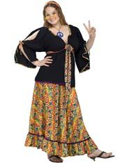 Groovy Mama 70s Plus Size Costume