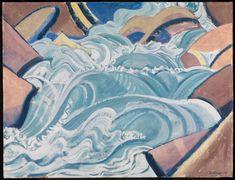 Entdecken Sie das Werk von August Babberger auf der Website der Kunsthalle Karlsruhe. Creative, Waves, Artwork, Switzerland, Karlsruhe, Artworks, Painting Art, Work Of Art, Auguste Rodin Artwork