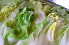 Brining Cabbage for Kimchi by David Lebovitz, via Flickr