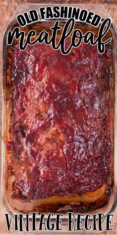 The most classic of American comfort foods, meatloaf is the ultimate family dinner recipe that is simple to make and full of flavor. Moist and tender, this meatloaf recipe is a delicious combination of savory meat and seasonings with a sweet and tangy glaze on top. Meat Recipes, Cooking Recipes, Venison Recipes, Meatball Recipes, Burger Recipes, Casserole Recipes, Dinner Recipes, Juicy Meatloaf Recipe, Traditional Meatloaf Recipes