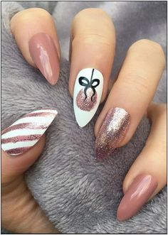 25 Bright and Awesome CHRISTMAS NAILS Art Design and Polish Ideas for 2019 Part christmas nails; christmas nails gel nails 25 Bright and Awesome CHRISTMAS NAILS Art Design and Polish Ideas for 2019 Part 24 Cute Christmas Nails, Christmas Nail Art Designs, Holiday Nails, Christmas Design, Xmas Nail Art, New Year Nail Art, Diy Xmas Nails, Christmas Holiday, Christmas Acrylic Nails
