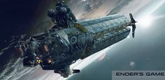 Exclusive: Fascinating ENDER'S GAME Concept Art by Cenay Oekman | RAR Writes