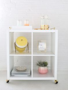 Bestsellery IKEA - Pomysły na Kallax (Expedit) | Make Home Prettier