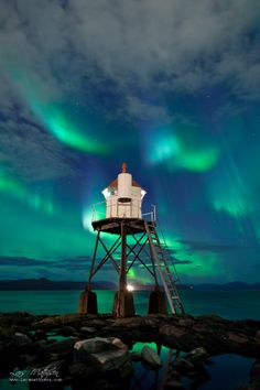 Skansen Lighthouse, Hammerfest, Northern Norway, by Lars Mathisen on 500px