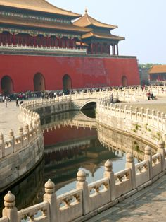 River of Gold, Forbidden City, Beijing, China