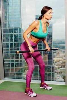 Взялась за тело: комплекс упражнений для тела мечты   Glamour.ru