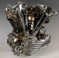 This is often very true when you're talking about Vintage Motorcycles. Cycle one down the street and all brain turn, nodding in confirmation. Harley Davidson Engines, Harley Davidson Knucklehead, Harley Davidson Motorcycles, Hd Motorcycles, Vintage Motorcycles, Motorcycle Engine, Motorcycle Bike, Motorcycle Girls, Knuckle Head