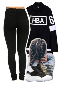 """HBA coat "" by jchristina ❤ liked on Polyvore featuring interior, interiors, interior design, home, home decor, interior decorating and Hood by Air"