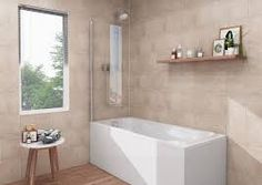 Plastic Wall Panels For Bathrooms Tile Decors Travertine Effect Pvc