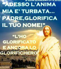 PAROLA Anno Liturgico B: B - 5 DOM. QUARESIMA