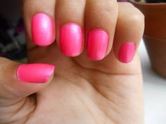L.A. Colors Color Craze Nail Polish Review- Pizzaz