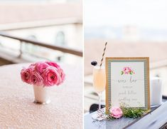 Pink Kate Spade Inspired Bridal Shower - Inspired By This