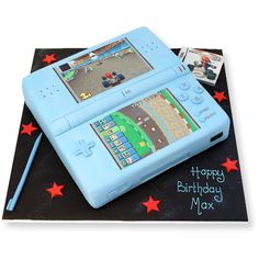 Nintendo DS Cake freshly made, delicious and delivered