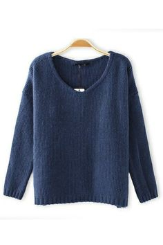 Loose sweater. My style.