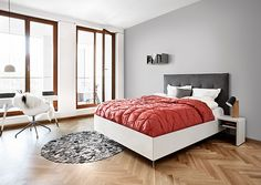 designer storage bed - BoConcept