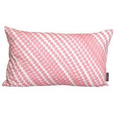 Mimou cushion diagonal dot pink