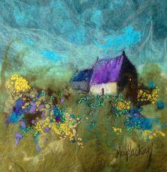 My favorite felting artist, Moy McKay