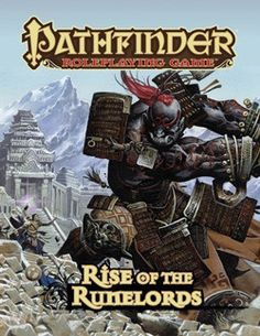 PATHFINDER RPG: ADVENTURE PATH BOOK - RISE OF THE RUNELORDS (ANNIVERSARY EDITION)