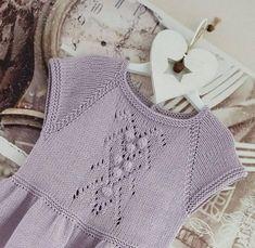 Baby Knitting, Crochet Top, Knitting Patterns, Dresses, Fashion, Little Girl Clothing, Tejidos, Dress, Breien